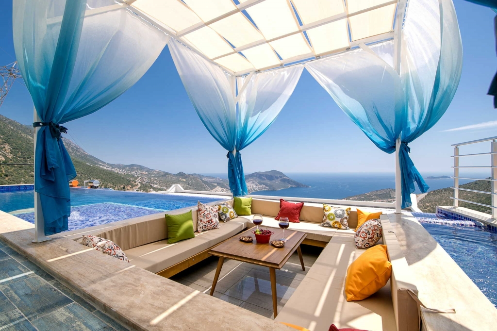 Kalkan villas getting ready for new 2019 Tourism season