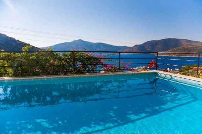 Bargain villa in Kalkan with spectacular sea view
